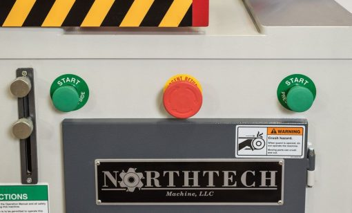 NT CS18LPBA-1034 Up Cut Saw With Dual Palm Buttons