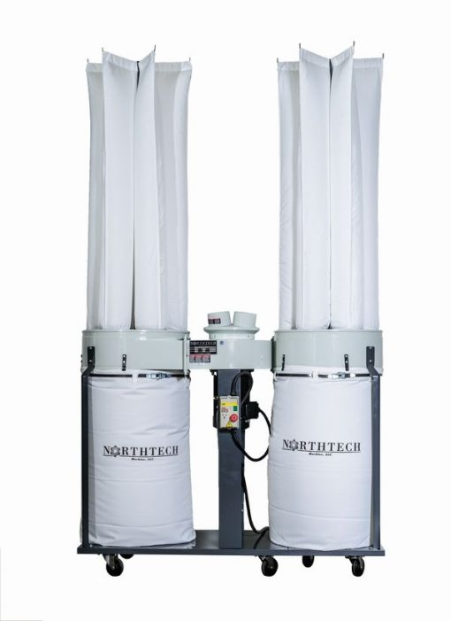 Northtech NT DC005-734 7.5 HP Dust Collector 460V