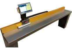 CALIPER MEASURING TABLE FOR MEASURING LONG PARTS PC-BASED MEASURING TOOL