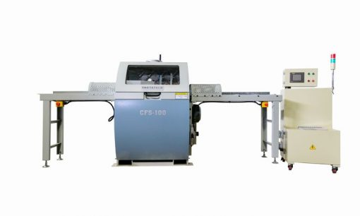 NT CFS-100A Automatic Crayon Mark & Defect Saw