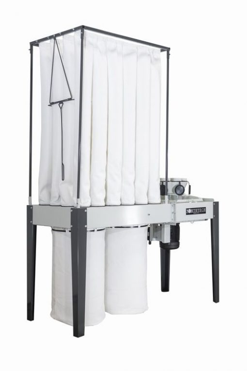 NT DC006-732 7.5 HP Soft Sound Indoor Dust Collector